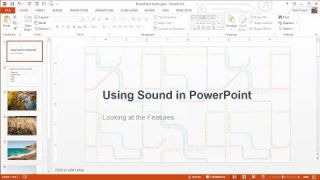 How to Add Audio to your PowerPoint Presentations