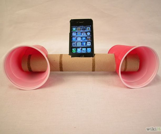 How to Make Paper Cup iPhone Speakers